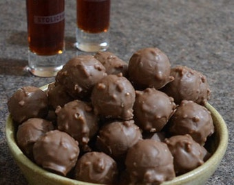 Hand Rolled Amaretto Truffles