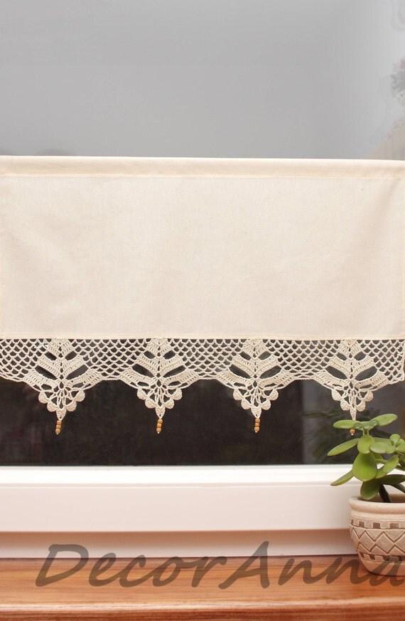 cafe curtains crochet