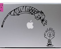 Calvin and Hobbes vinyl decal
