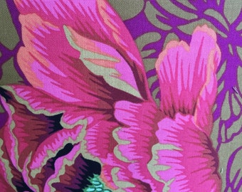 Brocade Peony by Phillip Jacobs for Westminster Fabrics in Autumn Half Yard