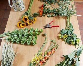 Box of Cut Flowers