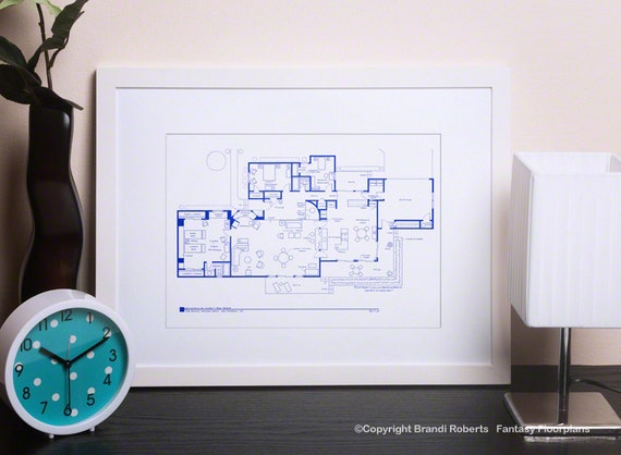The Dick Van Dyke Show House Floor Plan Tv Show Floor Plan
