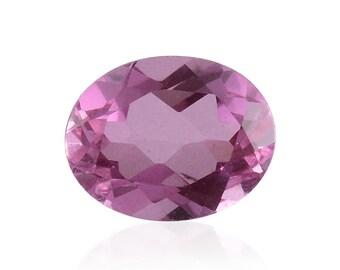 Kunzite Triplet Quartz Oval Cut Loose Gemstones 1A Quality 9x7mm TGW 1.95 cts.