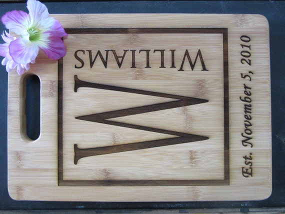 Traditional 5th Wedding Anniversary Gifts: 5th Anniversary Gift Traditional Gift Personalized Bamboo
