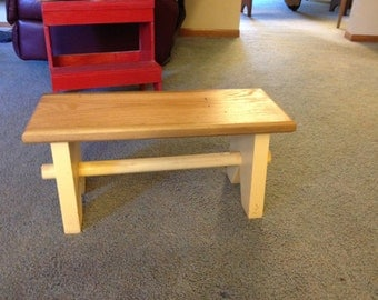 Child's stool or footstool