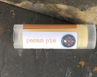 Pecan Pie Lip Balm, Handmade Lip Balm, Fruity Lip Balm