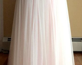 Bridal Maxi Skirts, Soft Mesh Skirts, Bridal Maxi Skirt, Bridal Skirt ,Tulle Skirt, Bridesmaides Tulle Wedding skirt, Princess Skirts, Skirt
