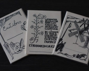 Handmade Book Plates