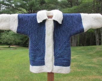 Alpaca & Wool Baby Sweater