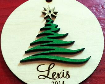 Christmas Ornament Tree Design