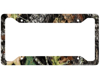 camo license plate frame mossy oak car tag frame camo license plate holder break up camo mossy oak license plate frame 30 8011