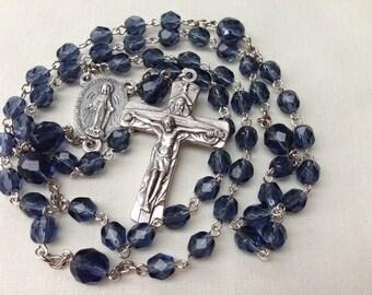 Holy Trinity Rosary // Confirmation Gift // Catholic Rosary