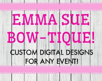 Personalized birthday invitation from my kids Collection- ***Digital File*** message me before ordering!