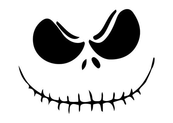 jack skellington face template - jack skellington face outdoor vinyl
