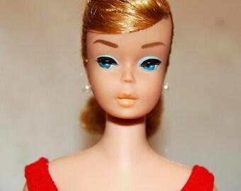 Vintage Barbie doll Swirl Ponytail All Original ash blonde swim excellent condition