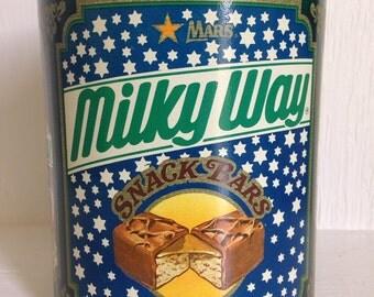 Vintage Milky Way Tin