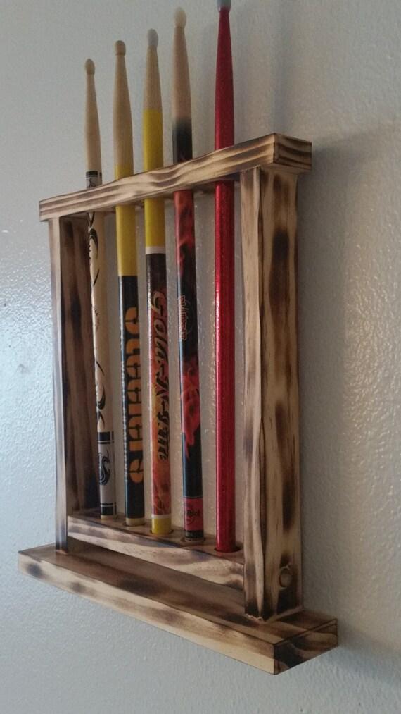 drum stick display drumstick holder holds 5 sticks custom. Black Bedroom Furniture Sets. Home Design Ideas