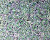 Premier Lord Collection  - Swirls - Blue by Dan Bennett for Free Spirit Fabrics 4065
