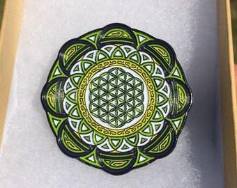 Flower of Life Mandala Sacred Geometry Pin