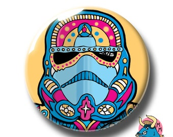 Stormtrooper Badge Yellow. Stormtrooper Pin. Star Wars Badge. Star Wars Pin. Star Wars. Pin Badge. Pin Badges. Badges. Button Badges. Pins.