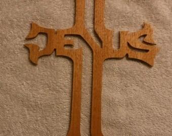 Religious Jesus Cross wooden #1
