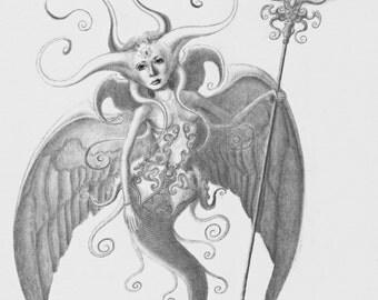 Sphigonnia Original Drawing