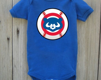 Cubs Inspired Bodysuit for Baby