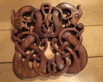 Celtic double dragon
