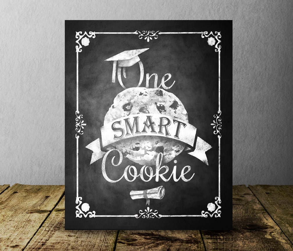 It's just a picture of Fan One Smart Cookie Printable