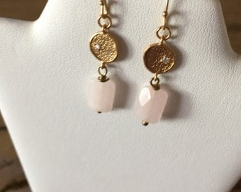 Petite Rose Quartz and Crystal