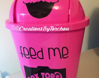Box Tops for Education Collector/Personalized Teacher Gift