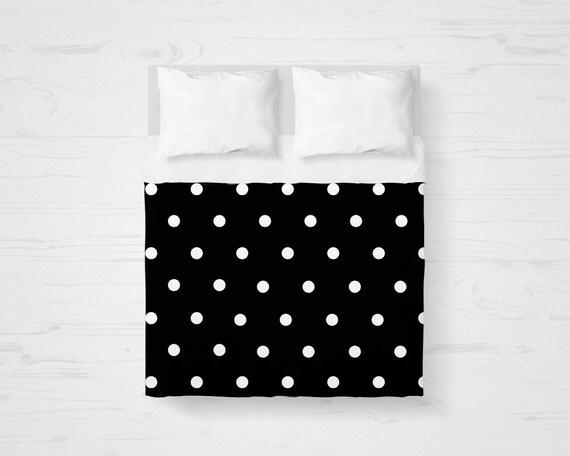 duvet cover polka dot modern bedding by homedecorativedesign. Black Bedroom Furniture Sets. Home Design Ideas