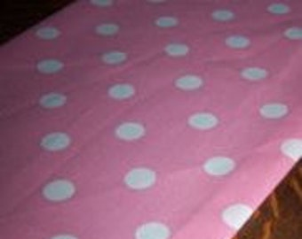 Light Pink Polka Dot Table Runner