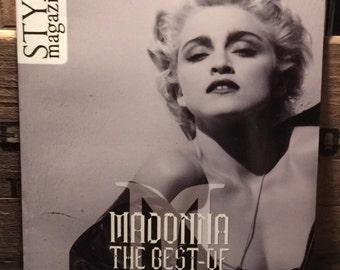 Madonna STYX Magazine The Best Of 1980 ~ 1990 NEW