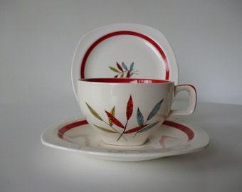 Midwinter Trio  Stylecraft shape with Hawaii Design 1953