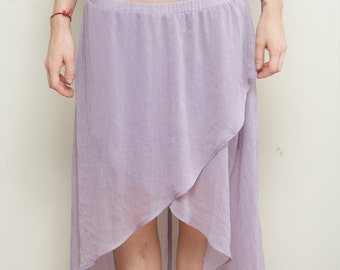 Layered, Floor length Skirt