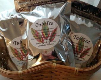 Tub Tea - Soothing & Relaxing Salt Soak