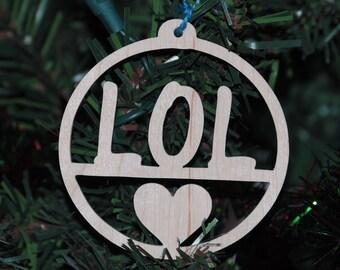 LOL Christmas Tree Ornament