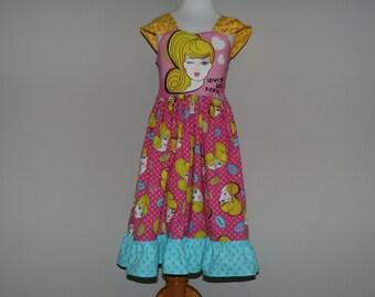 Boutique Style Barbie Party Dress