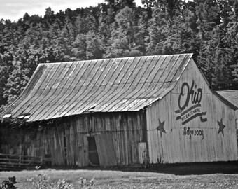 Ohio Bicentennial Barn Photograph