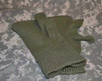Wool Military mittens