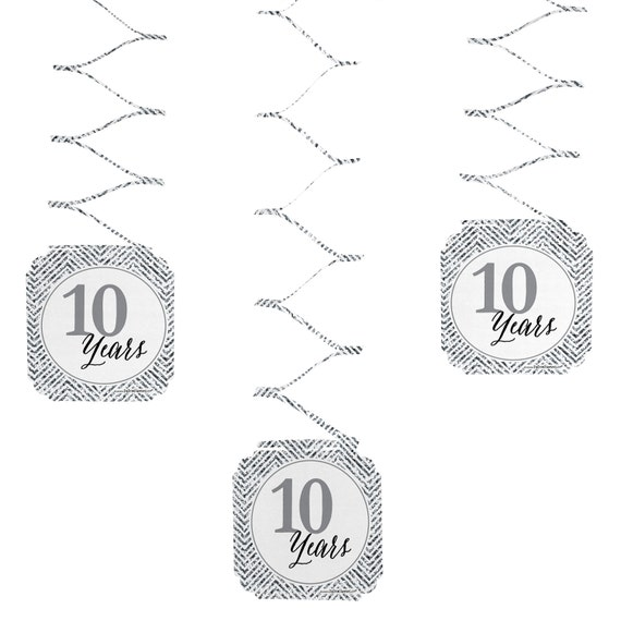 Set of 6 we still do 10th wedding anniversary hanging for 10th wedding anniversary decoration ideas