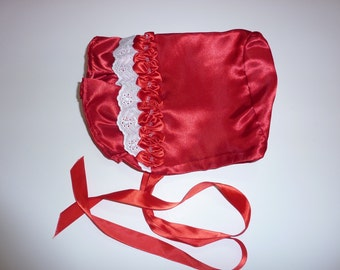 Satin Infant Bonnet