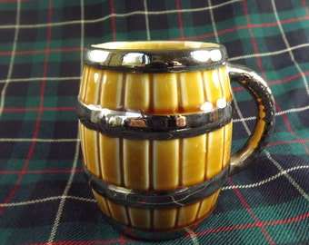 Vintage Wade Barrel Shaped Tankard