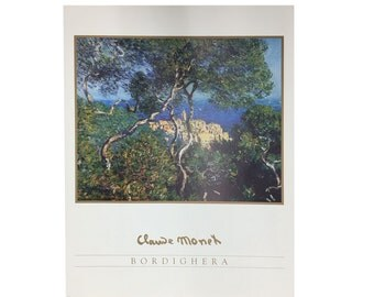 Bordighera by Claude Monet - Framed Art or Print Alone