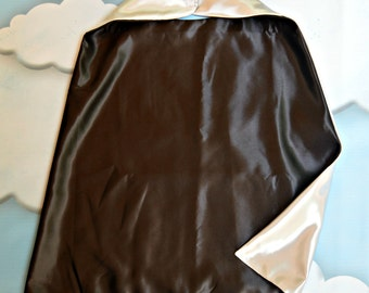Cape. Plain Cape. Reversible Cape. Black and Silver Cape. Kids Cape.