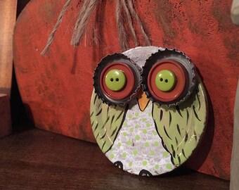 Owl Junk Art!