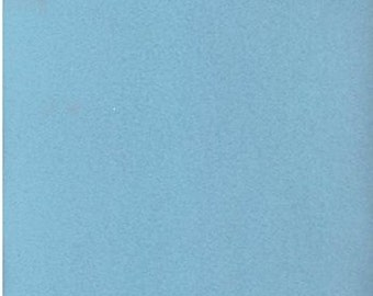 Remnant - Solid Blue Polar Fleece Fabric 25in