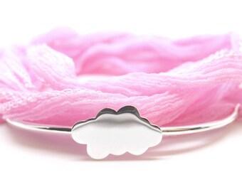 Bracelet half cane-cloud