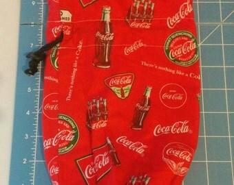 Coca Cola Coke Dice Masters Round Bottom Dice Bag
